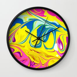 Ohh Swirly/// 4 Wall Clock