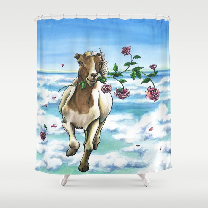 On the Loose Shower Curtain