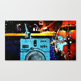 Sexy washer Canvas Print