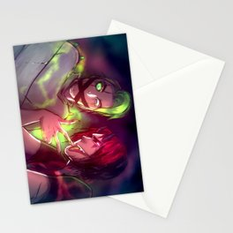 Taking Back the Crown . Darkiplier and Antisepticeye Stationery Cards