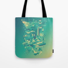 Geometromorphic Dream Tote Bag