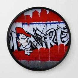Graffiti in Montreal, #canada Wall Clock