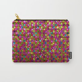 Polka Dot Sparkley Strass G266 Carry-All Pouch