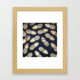 Pineapple wrapping Framed Art Print