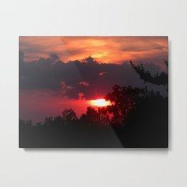 Washington - sunset Metal Print