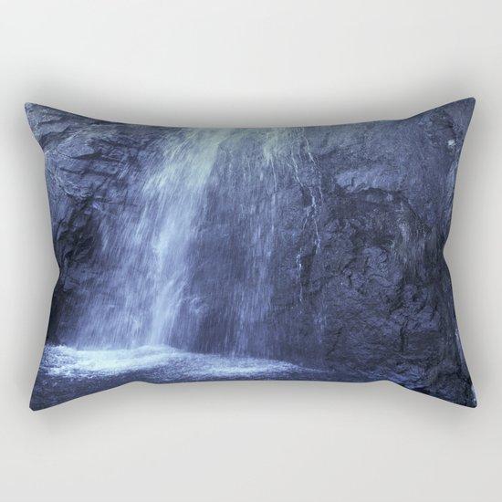 """At the mountains"" Waterfalls... Rectangular Pillow"