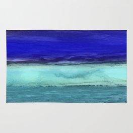 Midnight Waves Seascape Rug