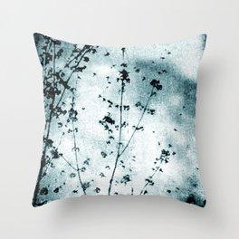 Cold Winter Throw Pillow