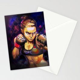 Arm Bar Queen Stationery Cards