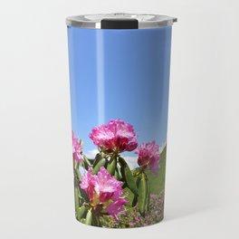 Wild Mountain Rhododendrons Travel Mug