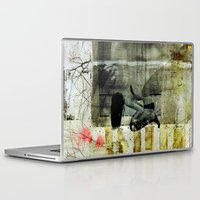 broken Laptop & iPad Skins featuring BROKEN by db Waterman