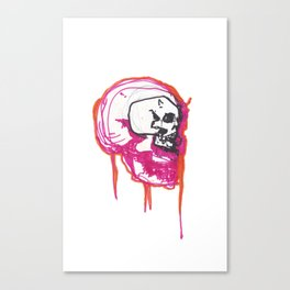 skulls design Canvas Print