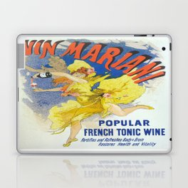 Vintage poster - French Wine Laptop & iPad Skin