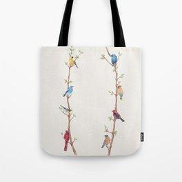 Bird Branches Tote Bag