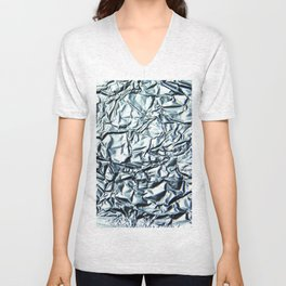 Metallic Unisex V-Neck