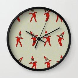 Elf-town Funk Wall Clock