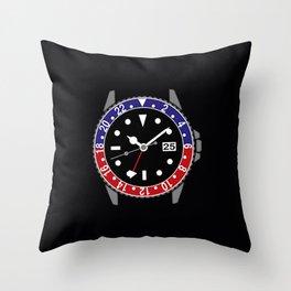 Rolex Seadweller Throw Pillow