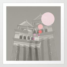 Dots//Sixteen Art Print