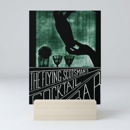 Railwayposter The Flying Scotsman Mini Art Print