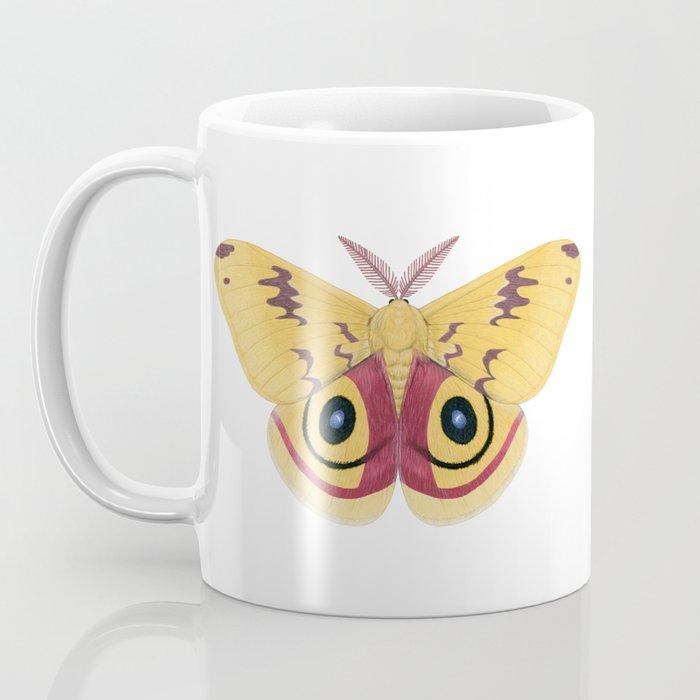 io moth (Automeris io) male specimen 1 Coffee Mug