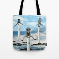 cigarettes Tote Bags featuring cigarettes by •ntpl•