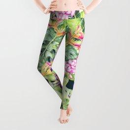 Tropical Garden 1 #society6 Leggings