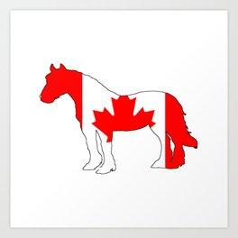 "Horse ""Canada"" Art Print"