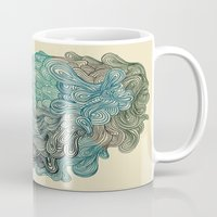 friday Mugs featuring Friday Afternoon by Marcelo Romero