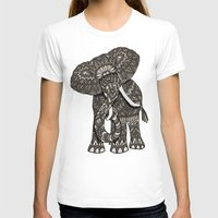 ornate T-shirts featuring Ornate Elephant by ArtLovePassion