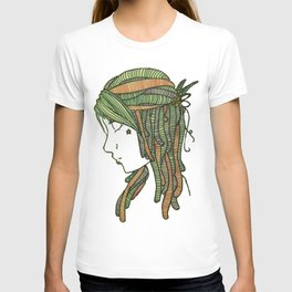Inked Native Girl T-shirt
