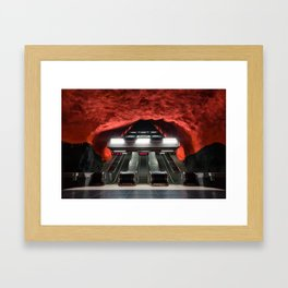Solna Centrum Metro Station in Stockholm, Sweden IV Framed Art Print