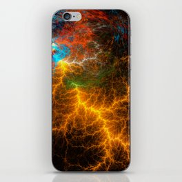 Lightning Thoughts iPhone Skin