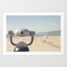 The View: Santa Monica Art Print