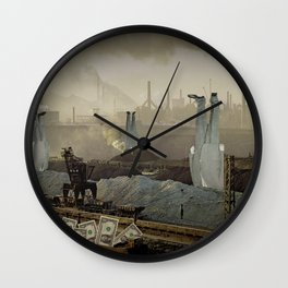 the truth is dead · just make money Wall Clock