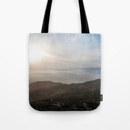 Sunrise Overdrive Tote Bag