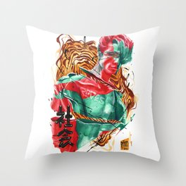 M∆GNVS Throw Pillow