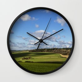 Views of Wiltshire. Wall Clock
