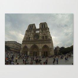 Notredame Canvas Print