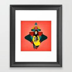 Goat Herder 1 Framed Art Print