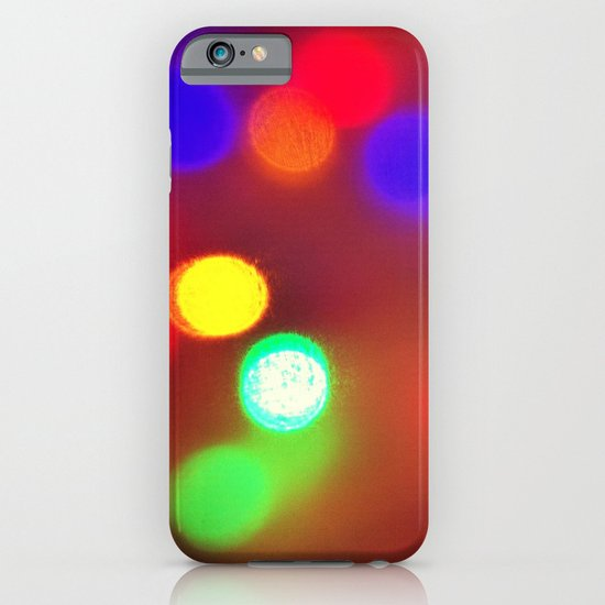 Colourful Lights iPhone & iPod Case