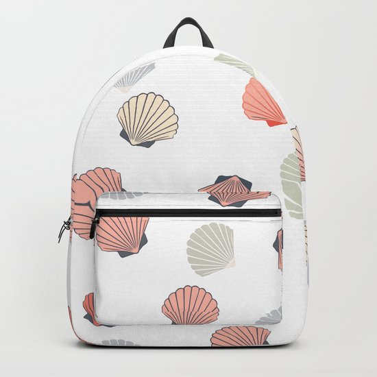Cute shell pattern Backpack