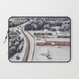 Winter view from the sky Laptop Sleeve