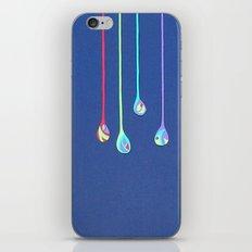Jewel Drops Papercut iPhone & iPod Skin