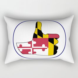 Thumbs Up Maryland Rectangular Pillow