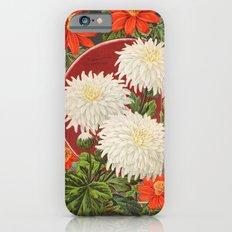 Vintage flower Chrysanthemum iPhone 6s Slim Case