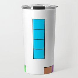 Poster Nintendo Tetris Travel Mug
