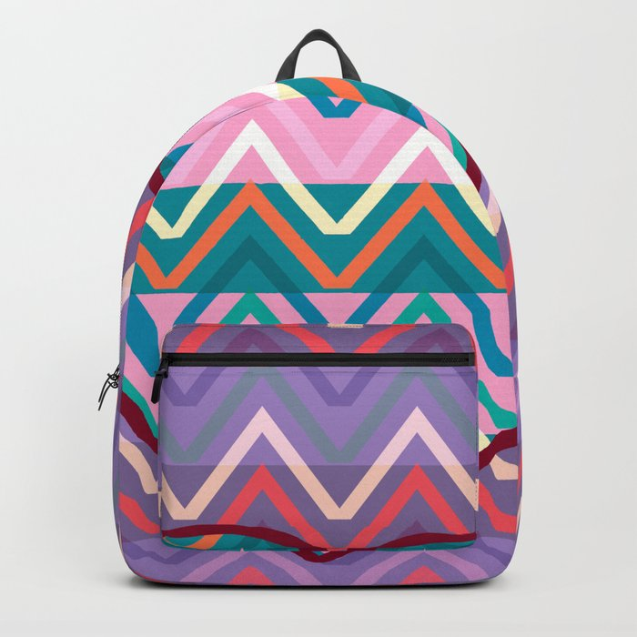 Heart chevron Backpack