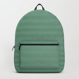 Vintage chic green geometrical stripes pattern Backpack