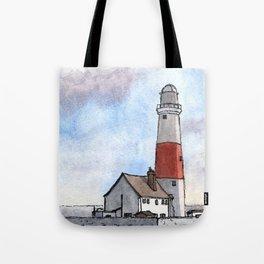 Portland Lighthouse Tote Bag