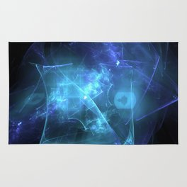 Cosmic Spider Web Rug